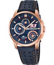 Lotus 18242-1 Mens Marc Marquez Blue Leather Strap Watch