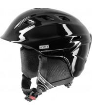 Uvex 5661572003 Comanche 2 Pure Black Ski Helmet - 51-55cm