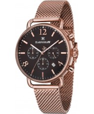 Thomas Earnshaw ES-8001-66 Mens Investigator Rose Gold Plated Chronograph Watch