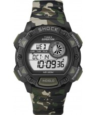 Timex T49976 Mens Camo Expedition Base Shock Chronograph Watch