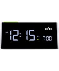 Braun BNC016BK Black LCD Clock