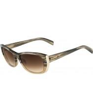 Jil Sander JS679S Gradient Taupe Sunglasses