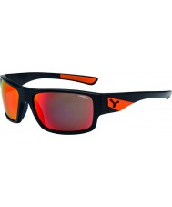 Cebe Whisper Matt Black Orange Sunglasses
