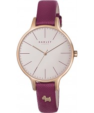 Radley RY2416 Ladies Wimbledon Ruby Leather Strap Watch
