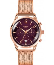 Henry London HL39-CM-0088 Ladies Hampstead Purple Rose Gold Chronograph Watch