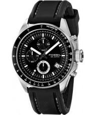 Fossil CH2573 Mens Decker Black Chronograph Watch