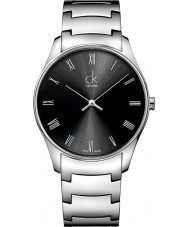 Calvin Klein K4D2114Y Mens Classic Black Silver Watch
