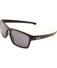 Oakley OO9262-01 Sliver Matte Black - Grey Sunglasses