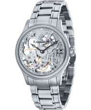 Thomas Earnshaw ES-8049-11 Mens Bauer Silver Mechanical Skeleton Watch