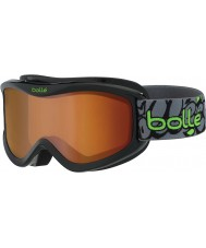 Bolle 21507 Volt Black Graffiti - Citrus Dark Ski Goggles - 6 plus Years