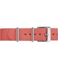 Timex TW7C07500 Weekender Fairfield Coral Nylon Strap