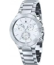 Klaus Kobec KK-20002-01 Mens Alexander Silver Chronograph Watch