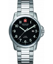 Swiss Military 6-5231-04-007 Mens Swiss Soldier Prime Black Silver Watch
