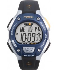 Timex T5E931 Blue Black Ironman 30 Lap Full Size Sport Watch