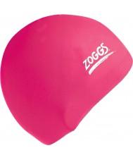 Zoggs 300604-PNK Pink Silicone Cap
