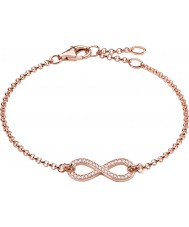 Thomas Sabo A1310-416-14 Ladies 18k Rose Gold Plated Eternity of Love Infinity Bracelet