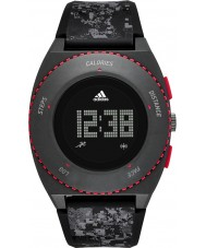 Adidas Performance ADP3258 Mens Sprung Black Silicone Strap Watch