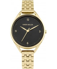 Karen Millen KM130BGM Ladies Gold Plated Bracelet Watch