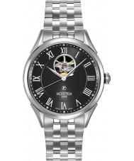Roamer 550661-41-52-50 Mens Swiss Matic Silver Steel Bracelet Watch