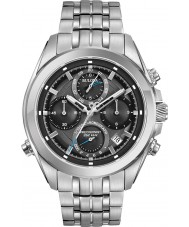 Bulova 96B260 Mens Precisionist Silver Steel Bracelet Chronograph Watch