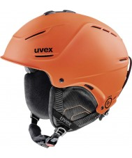 Uvex 5661538003 P1us Orange Ski Helmet - 52-55cm