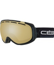 Cebe CBG127 Feel In Full Black and Grey - Variochrom Perfo 1-3 Ski Goggles