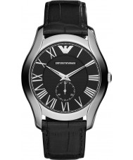 Emporio Armani AR1703 Mens Classic Black Leather Strap Watch