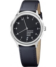 Mondaine MH1-R2220-LB Helvetica No 1 Regular Watch