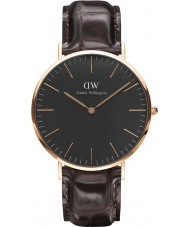 Daniel Wellington DW00100128 Classic Black York 40mm Watch
