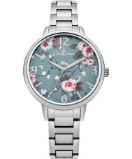 Cath Kidston CKL001SM Ladies Trailing Rose Silver Bracelet Watch