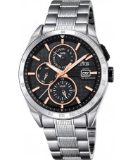 Lotus L18244-7 Mens Silver Multifunction Watch