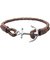 Tom Hope Cognac Brown Bracelet