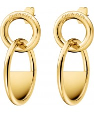 Calvin Klein KJ8GJE100100 Ladies Locked Earrings