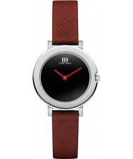 Danish Design V24Q1098 Ladies Red Leather Strap Watch