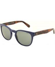 Polo Ralph Lauren PH4099 52 Casual Living Navy Blue 554187 Sunglasses