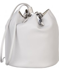 Fiorelli FH8471-WHITE Ladies Callie Ice Mix Drawstring Backpack