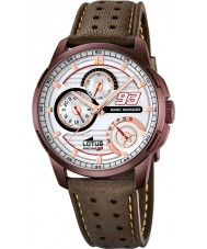 Lotus 18243-1 Mens Marc Marquez Brown Leather Strap Watch