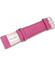 Krug Baümen MC15613G Vibrant Pink Leather Replacement Mens Principle Strap