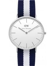 Daniel Wellington DW00100047 Ladies Classic Glasgow 36mm Silver Watch