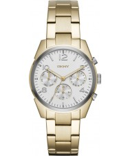 DKNY NY2471 Ladies Crosby Gold Plated Chronograph Watch