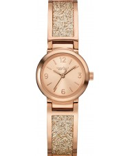Caravelle New York 44L165 Ladies Glitz Rose Gold Steel Bracelet Watch