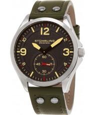 Stuhrling Original 684-03 Mens Aviator Tuskegee 684 Watch