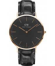 Daniel Wellington DW00100129 Classic Black Reading 40mm Watch