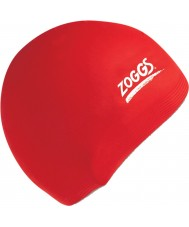 Zoggs 300604-RED Red Silicone Cap