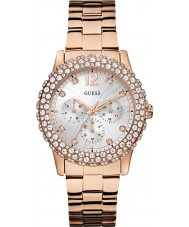 Guess W0335L3 Ladies Dazzler Rose Gold Plated Bracelet Watch