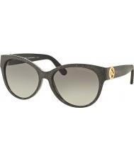 Michael Kors MK6026 57 Tabitha I Black Glitter 309511 Sunglasses