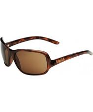Bolle Kassia Shiny Tortoiseshell Polarized A-14 Sunglasses