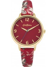 Cath Kidston CKL002RG Ladies Garden Rose Red with Multicolour Print Watch