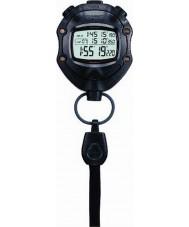 Casio HS-80TW-1EF Digital Black Stopwatch