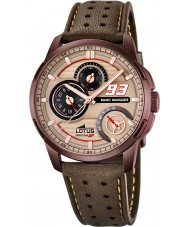 Lotus 18243-2 Mens Marc Marquez Brown Leather Strap Watch